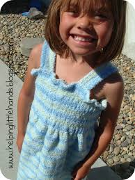 Pieces by Polly: Little Girls Towel Dress/Cover-Up