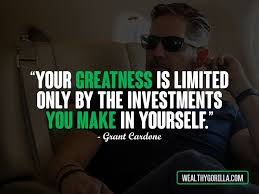 Grant Cardone Quotes Classy 48 Grant Cardone Quotes About Achieving Success Wealthy Gorilla