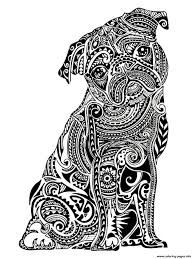 Animal Coloring Pages For Kids Hard Printable Coloring Page For Kids