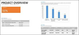 Microsoft Office Reports Create A Project Report Project