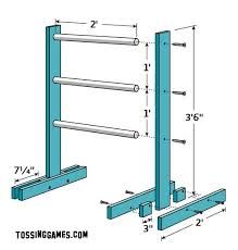 Wooden Game Plans Ladder Game Plans The Tossing Games Forum 76