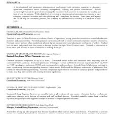 Pharmacist Resume Pdf Remarkable Health Pharmacist Resume Template Sample For Job Intended 12