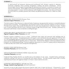 Consultant Pharmacist Sample Resume Resume Pharmacist Pharmacist Resume Examples Httptopresumeinfo 23