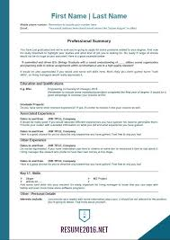... Resume Formats Work Sample Customer Service Resume College Resume  Format 2016
