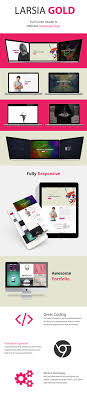 Larsia Gold Onepage Personal Resume Template By Pixiefy
