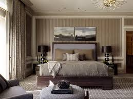 Relaxing Brown Master Bedroom Paint Design Ideas