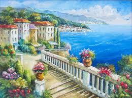 greece beach stock ilration ilration of balcony 53844518
