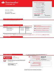 santander payoff 11_22_2016 billing statement pdf account information