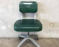 vintage office chair. vintage industrial green cole office chair 872ysh p