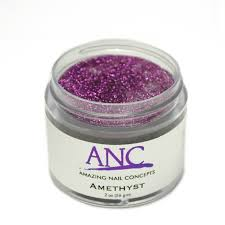 Anc Nails Color Chart Anc Dip Powder Amethyst 102 2 Oz Part Of The Anc Acrylic Nails Dipping System Anccpg102