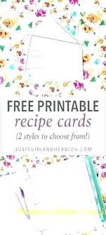 Free Cookbook Templates Printable Recipe Book Pages Binder