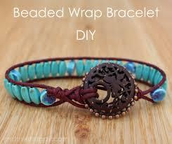 wrap bracelet with statement bead