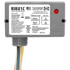 details functional devices, inc Ribu1c Relay Wiring Diagram ribu1c category relays rib relay ribu1c wiring diagram