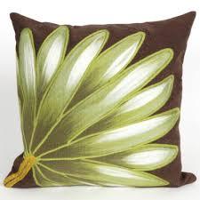 Brown outdoor pillows & cushions