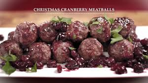 Irish Beef - Christmas Cranberry Meatballs - YouTube