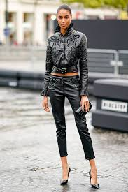 what to wear with leather trousers 2019