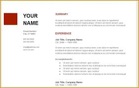 Resume Builder Google
