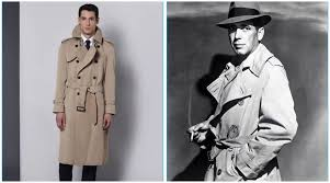 aquascutum pays homage to humphrey bogart with trench coat the fashionisto