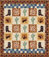 Best 25+ Cowboy quilt ideas on Pinterest | Cowboy up, Baby quilt ... & free pattern ~ Ride 'Em Cowboy by Debby Kratovil Quilts Adamdwight.com