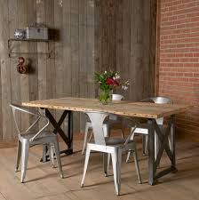 Anselmo Industrial Style Dining Table SetIndustrial Look Dining Table