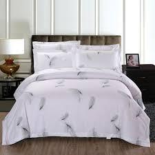 100 cotton bedding sets. Modren 100 Bedding Set 100 Cotton Bed Linen Hotel White Feather SetsDuvet  CoverSheetPillowcase Edredon Ropa De Cama Queen Duvet Cover Sets Brown  And 100 0