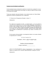 Formato De Cartas De Peticion