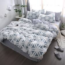 2019 new shu velveteen bedding set queen super king bed linen set 3d winter warm home duvet cover flannel fleece bedclothes leopard bedding