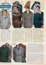winter 1950s mens fashion trends vintage ping catalog