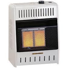 ventless two plaque propane gas wall heater 10 000 btu