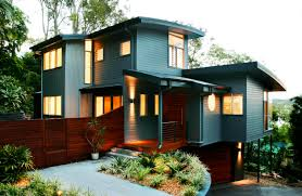 Attractive Exterior House Paint Colors With Modest Homes Amaza - House with basement garage