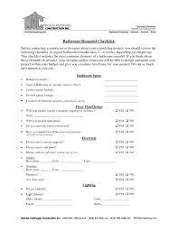 bathroom remodeling checklist. Fine Checklist Checklist For Bathroom Remodel Tags  Template Remodeling Intended Bathroom Remodeling Checklist