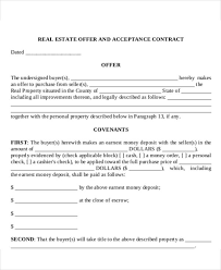 Real Estate Offer Letter 100 Real Estate Offer Letter Template 100 Free Word PDF Format 2