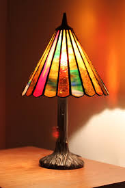 stained glass lamp slice