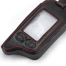 2019 5 ons leather key cover case for tomahawk tz9010 tz9030 lcd remote only tomahawk tz 9010 two way car alarm from bestliner 39 51 dhgate com