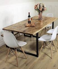 reclaimed industrial dining table as well as stanford industrial reclaimed wood extending dining table with industrial reclaimed timber dining table plus