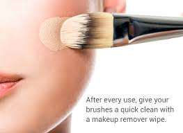 can you clean your makeup brushes with makeup remover wipes