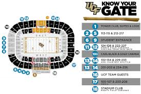 Spectrum Stadium Seating Chart Ucf Central Florida Football Stadium Seating Chart Best