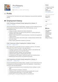 Hvac Technician Resume Sample 24 Free HVAC Technician Resume Samples ResumeViking 18