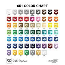 Oracal 651 Vinyl Sheets