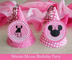 minnie mouse party hat template
