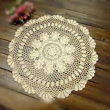 lace tablecloths round