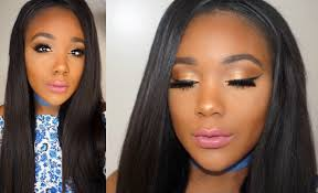 full face makeup tutorial for beginners i golden bronze makeup tutorial 2016
