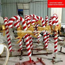 large candy cane decorations outdoors photo 4 of 6 large candy cane decorations 4 fiber large
