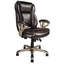 office leather chair. Realspace MFMC400 Bonded Leather Multifunction Managerial Office Leather Chair