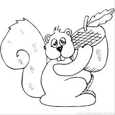 Coloring Pages Of Squirrels Squirrel Coloring Page Elegant Related