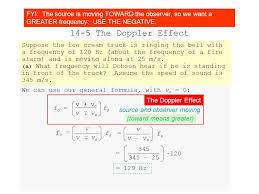 sound 14 5 the doppler effect