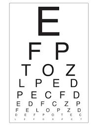 77 Reasonable Opticians Reading Chart