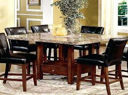 square granite dining table set dining tables remarkable round granite dining table marble top kitchen table