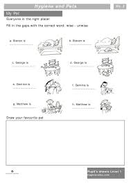 Grade 4 Health Worksheets and Hygiene and Pets Worksheets for Kids ...
