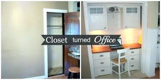 walk in closet office. Walk In Closet Office Convert To Compact Home Design Small Space